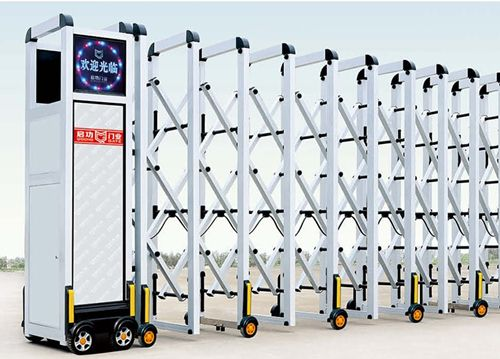 Cổng Xếp Tự Động Inox | Cửa Công Thông Minh Có Độ Bền Cao
