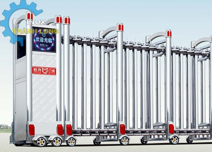 Công xếp inox nhập khẩu QG-J1612