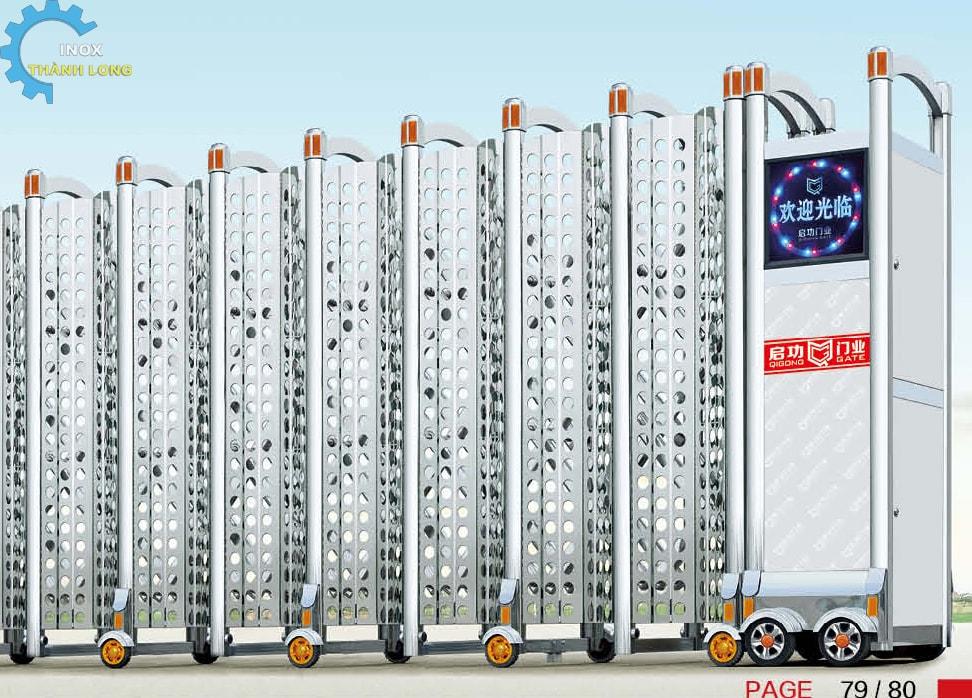 Công xếp inox nhập khẩu QG-J1621