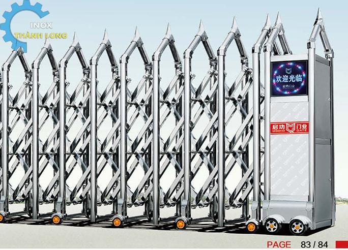 Công xếp inox nhập khẩu QG-J1628