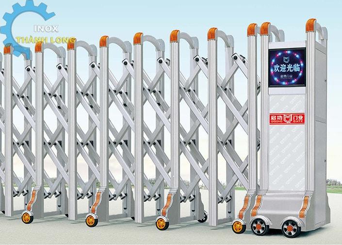 Cổng xếp nhôm nhập khẩu QG-L1619