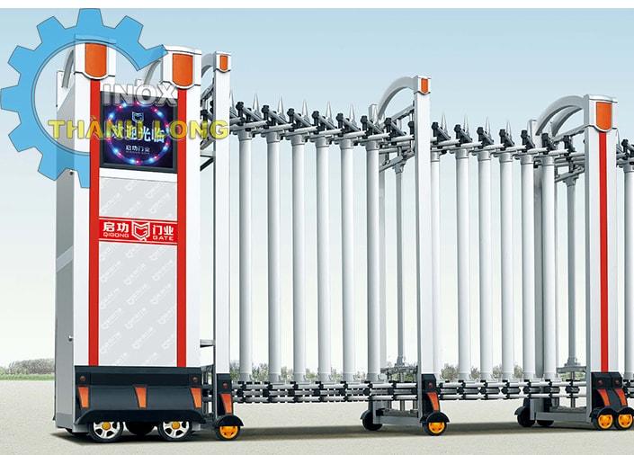 Cổng xếp nhôm nhập khẩu QG-L1620