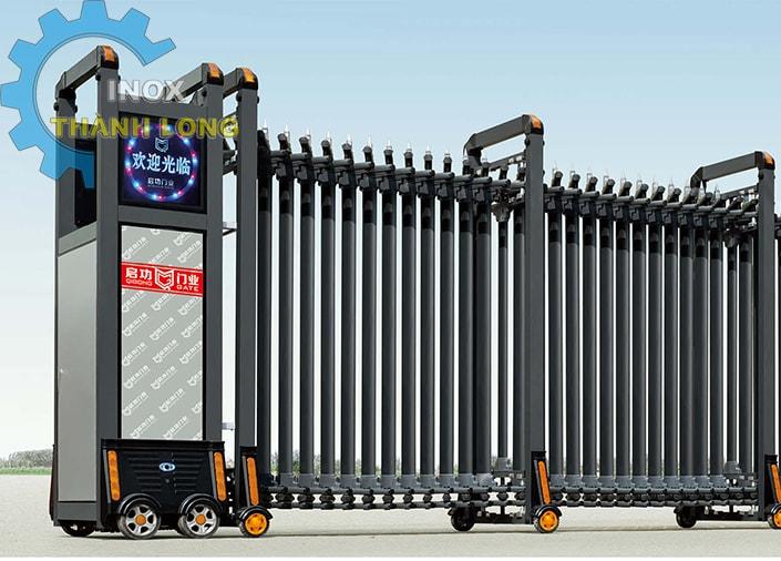 Cổng xếp nhôm nhập khẩu QG-L1622