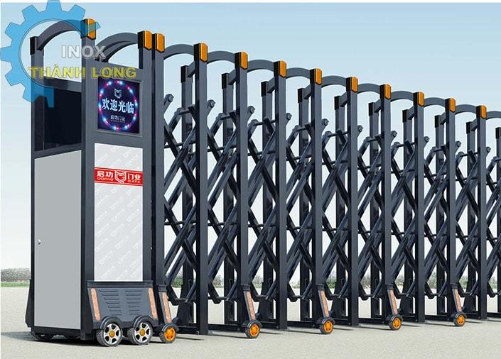 Cổng xếp nhôm nhập khẩu QG-L1624