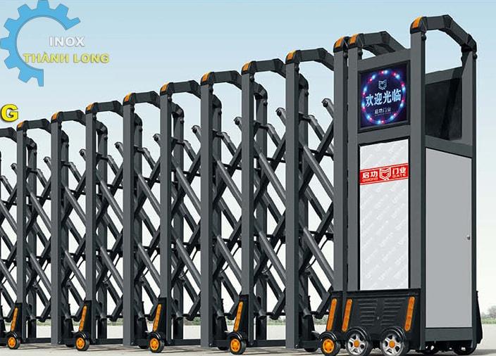 Cổng xếp nhôm nhập khẩu QG-L1626