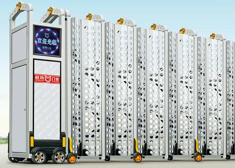 Cổng xếp nhôm nhập khẩu QG-L1641