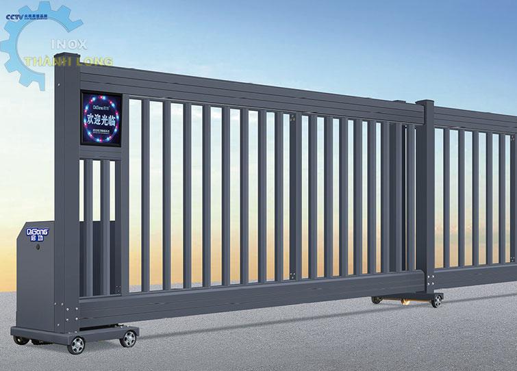 Cổng xếp nhôm nhập khẩu QG-P1400