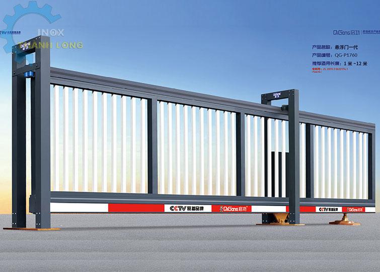 Cổng xếp nhôm nhập khẩu QG-P1760