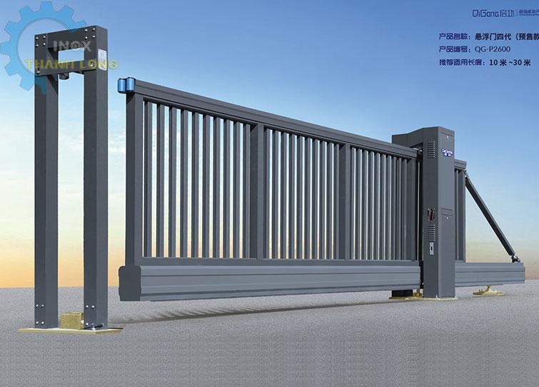 Cổng xếp nhôm nhập khẩu QG-P2600
